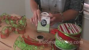 Easy Diy Christmas Tree Garland How To Make Christmas Tree Garlands Using Holiday Ribbon Youtube