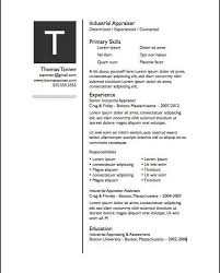 free mac resume templates gallery of free resume templates mac