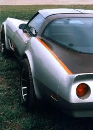 turbo corvette chevrolet s experimental c3 turbo corvettes