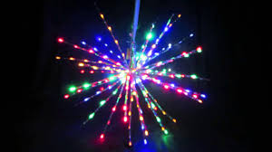 led firework 72cm 240l twinkle multicolour youtube