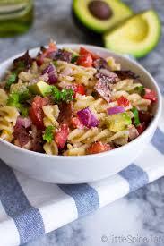 bacon avocado pasta salad recipe little spice jar