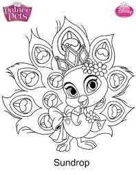 coloring delightful pets coloring pages palace