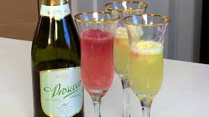 perfect party cocktails champagne sorbet floats youtube