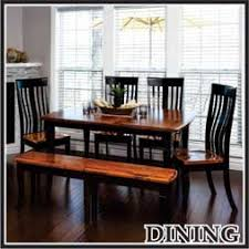 Amish Dining Room Furniture Amish Furniture Usa Solid Wood Dining Tables Chairs