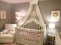 bed crown canopy shabby chic style nursery detroit by the
