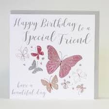 happy birthday to a special friend card large luxurious
