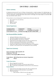 Test Manager Sample Resume by Sqs India Shivraj 9years Exp Ttl Profile