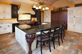 kitchens with different colored islands 32 kitchen islands with seating chairs and stools