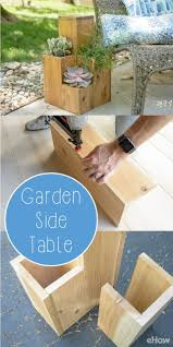 Building Small Side Table by Double Duty Design How To Build A Side Table Atop A Small Garden