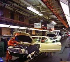 ford mustang assembly plant tour mustang ii assembly line mustang ii cobra ii