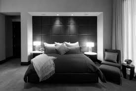 minimalist bedroom decorating ideas with best contempora new black
