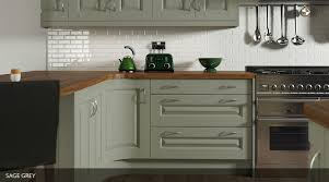 Heritage Kitchen Cabinets Painted Kitchen With Square Frame Doors With A Raised Centre Panel