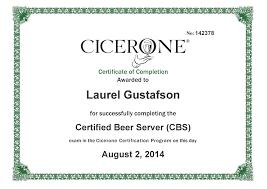 Beer Resume Resume U2013 Laurel Gustafson