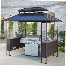 Pergola Gazebo With Adjustable Canopy by Gardenline Grill Gazebo Gazebo Ideas