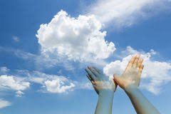 dove shaped cloud royalty free stock image image 2712766