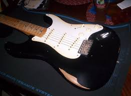 worn again making a relic surf green 50 u0027s strat 6 steps with