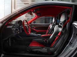 porsche red interior porsche unveils the most powerful street legal 911 model of all time