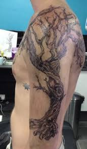 pics photos half sleeve family tree tattoos axsoris