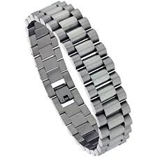 bracelet stainless steel images Stainless steel rolex style bracelet for men 5 8 inch jpg
