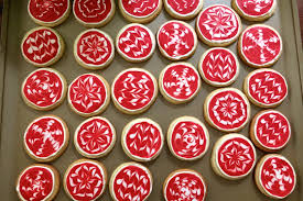 ornament cookies marshmallows margaritas