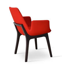 Red Armchair Modern Wood Chair Wood Chair Design 212concept