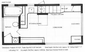 small homes floor plans floor plans of the brilliant 280 square tiny house by chris