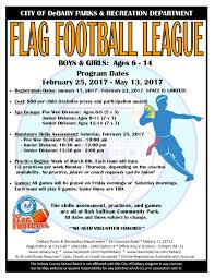 6 Flags Hours City Of Debary Fl Flag Football And Cheer Registration