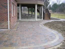 Lowes Patio Pavers by Landscaping Bricks From Lowes Extending Patio With Pavers Related