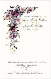 wedding program designs cascade wedding program exles catholic wedding program