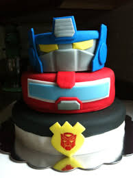 transformers birthday cake my labor of baking a moment