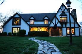 tutor homes romantic authentic english tudor home in fox den luxury homes