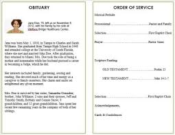 how to make funeral programs 29 images of printable memorial service template leseriail