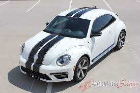 volkswagen beetle classic 2016 2012 2016 volkswagen beetle rally bumper to bumper racing stripes