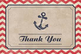 nautical thank you cards nautical baby shower thank you card digital