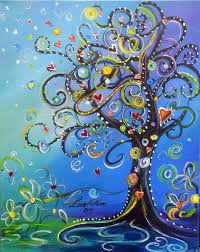 easy acrylic painting ideas trees tree acrylic painting sale tree