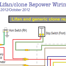 honda ct70 lifan u0026clone wiring diagram w electric starter home