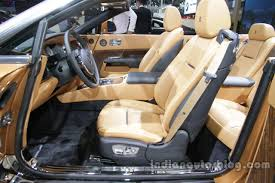 Rolls Royce Dawn Interior At Auto China 2016 Indian Autos Blog