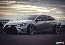 stanced toyota camry stance toyota camry 2016 side