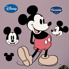 mickey mouse wall stickers all about fathead disney clic mickey mouse wall decal wayfair