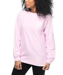 light pink top women s hellz bellz live fast light pink long sleeve t shirt 282018