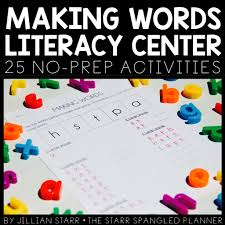 5 favorite literacy centers the starr spangled planner