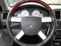 2005 chrysler 300 limited dark slate gray light graystone steering