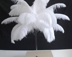 Ostrich Feathers For Centerpieces by Bulk 50 Piece 10 24 Inches White Ostrich Feather For Wedding