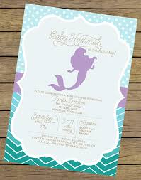 it s a girl baby shower ideas mermaid baby shower invitation girl baby by charlesalexdesign