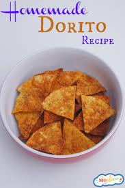 Coolest Doritos Bag Child U0027s Homemade Dorito Recipe