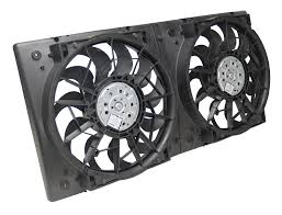 electric radiator fans and shrouds amazon com derale 16928 high output dual radiator fan automotive