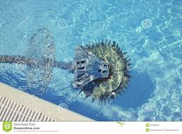 swimming pool cleaner robot royalty free stock photography image