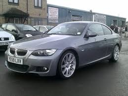 used bmw 3 series uk used grey bmw 3 series 2009 diesel 325d m sport coupe excellent
