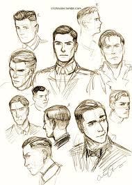 hair study i really want to become good at drawing men u0026 8217