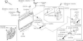 nissan altima 2005 radiator 2002 nissan xterra oem parts nissan usa estore